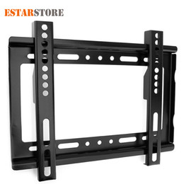 $enCountryForm.capitalKeyWord Australia - Universal TV Stand Wall Mount TV Bracket Holder For Most 14 ~ 32 Inch HDTV Flat Panel LCD Plasma