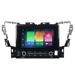 "Head Units For Cars UK - COIKA 9"" Octa Core Android 8.0 System Car DVD Head Unit For Toyota Alphard 2015+ GPS Navi 4+32G Radio RDS WIFI 4G Mirror Screen OBD DVR BT"