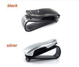 Sunglasses Sales NZ - 2018 Hot Sale auto fastener clip Auto Accessories ABS Car Vehicle Sun Visor Sunglasses Eyeglasses Glasses Ticket Holder Clip