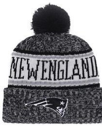 68ce5102 Winter Patriots Beanie Hat Sideline Cold Weather Graphite Sport Knit Hat  Knitted Wool Hat Adult Bonnet Warm Official Reverse Cap Beanie