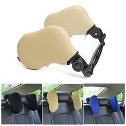 $enCountryForm.capitalKeyWord NZ - Outdoor Car Seat Headrest Memory Foam Pillow Head Neck Rest Support Cushion ar Pillow Neck Travel For Sleep