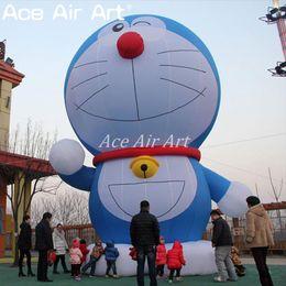 $enCountryForm.capitalKeyWord NZ - Customized giant cartoon character inflatable Doraemon model,pop up air balloon Doraemon replica standing for promotion and festival