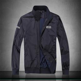 f484193e3 Мужские спортивные куртки брендовая одежда для мужчин ветровка куртка  тонкий тонкий весна лето спортивная одежда повседневная пальто