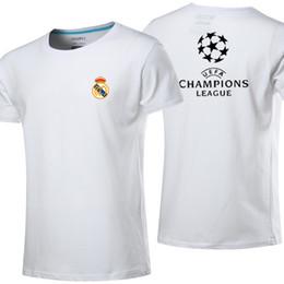 2017 Champions League fans Real Madrid cotton 2018 Ronaldo Soccer jersey  MODRIC LUCAS V MORATA BALE KROOS ISCO BENZEMA football jersey f2f2add73