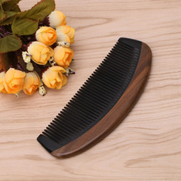 $enCountryForm.capitalKeyWord Australia - 2018 Preety Natural Green Sandalwood Ox Horn Wood Comb Beard Makeup Tool Massage Hair Care