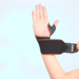 Wrist Band Cycling Australia - Aolikes Wristband For Cycling Tennis Gym Accessories Sports Wrist Bands Wrist Support Strap Wraps Hand Sprain Recovery