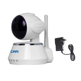 Fire Cameras UK - ESCAM QF510 Secure Dog WiFi Alarm IP Camera IR Night Vision Anti-fire Anti-gas 720P Security Device