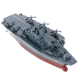 Toys Boats NZ - Create Toys Sea Wing Star 3319 2.4GHz All Direction Navigate Mini Radio Control Electric Warship Boat RTR