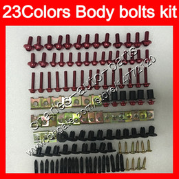China Fairing bolts full screw kit For HONDA CBR250R 11 12 13 11-13 MC41 CBR250 R CBR 250R 2011 2012 2013 Body Nuts screws nut bolt kit 23Colors suppliers