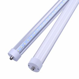 """$enCountryForm.capitalKeyWord UK - 8feet FA8 8ft LED Tube Light 96"""" 45Watt T8 FA8 Single Pin LED Bulbs With Clear & Frosted Cover 6500K Cool White Replace Fluorescent Bulb"""