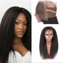 $enCountryForm.capitalKeyWord Australia - Malaysian Kinky Straight 360 Lace Frontal 100% Unprocessed Human Hair Lace Frontals Closures Fast Shipping LaurieJ Hair