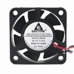 Brushless Fan 5v Australia - fan cooler 5v 20PCS Gdstime DC Brushless Cooling Fan Cooler 5V 2Pin 4cm 40mm 40x40x10mm 4010
