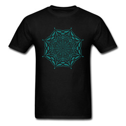 $enCountryForm.capitalKeyWord UK - MANDALA Kings T Shirts For Man Black T-shirt Oversized Tshirt 100% Cotton Tops Soft Tees No Fade Printed Clothes Geometry