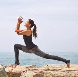 Sex Tight Leggings Australia - 2016 Women New Spell Color Tight Yoga Outfits Fitness Yoga Pants Sex Hollow Sports Leggings Female