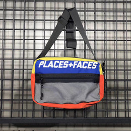 p sport Canada - PLACES+FACES Backpack P+F Waist Bag Messenger Bags Belt Bag Men Fanny Pack Designer Men Waist Pack Pouch Small Graffiti Belly Bags