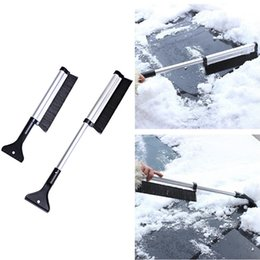 Snow Ice Scraper Removal Clean Tool Auto Car Vehicle Glass Snow Shovel Water Scraping Car Windshield Anti Slip Ice Remove Tools Garden Tools Garden Hand Tools
