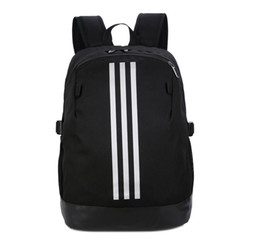 Stripes Backpack Style Australia - Sport Brand Backpack with Stripe Designer Backpack Printed Stylish School Bag Stylish Tide Mens Luxury Sport and School Style Bags for Women