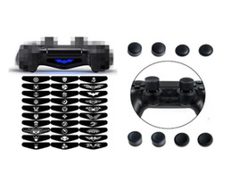 Hot Bar Australia - hot sale 10 in 1 Multifunction PS4 Cooling Stand w  4 Charging Docks Controller Charger 2 USB Ports 4 USB Hub 3.0 30pcs Light Bar Sticker