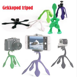 $enCountryForm.capitalKeyWord NZ - 2018 Gekkopod Portable Universal Flexible Gecko Mini Tripod Mount Multi Function Phone Camera Stand Octopus Spider Holder For CellPhone case