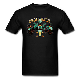 Craft Beer T-shirt Hommes Tees Sorcière Beer Brewer Tshirt Hommes Vêtements drôles Halloween Cartoon Tops Coton T Shirts Skull