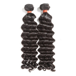 best loose deep wave hair NZ - Best 10A Grade Virgin Human Hair Weaves Brazilian Peruvian Indian Malaysian Hair Body Wave Straight Loose Deep Curly Water Wave 2 Years Life
