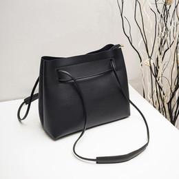 24ee4022e510 MOLAVE Shoulder Bag new high quality Leather Fashion Handbag Totes String  Bucket women shoulder bags crossbody bag feb13