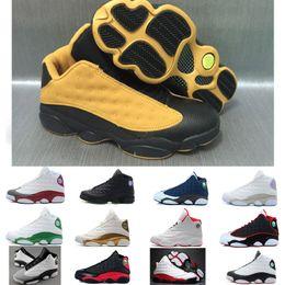 info for d9949 13e11 Hohe Qualität 13 gezüchtet Chicago Flints Männer Basketball Schuhe 13s DMP  graue Zehe Geschichte des Fluges All Star AIR Sneakers XIII
