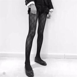 Venta al por mayor de Señoras de la marca medias de seda para las mujeres calcetines sexy para mujer calcetería moda causal medias sexy rejilla transparente medias calcetería femenina