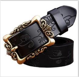 Men Belt Leather 36 NZ - belt designer belts luxury belts for men big buckle belt top fashion mens leather belts wholesale free shipping