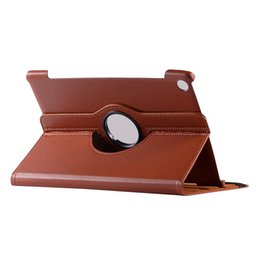 China Rotary 360 Degree Rotating Litchi Flip Stand PU Leather Case For Huawei MediaPad M5 10.8 inch 10 Pro CMR-AL09 CMR-W09 Tablet Cover suppliers