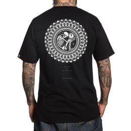 214ab7cf Sullen Men's Sorak T Shirt Black Tattoo Hip-Hop Dale Sarok Clothing Apparel