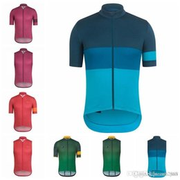 biker jersey 2019 - RAPHA team Cycling Short Sleeves Sleeveless Jerseys  Vest Breathable Racing Bicycle Cycling 95d185aea