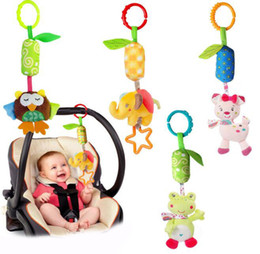 BaBy chime rattles online shopping - baby early educational toys New Infant Mobile Baby Plush Toy Bed Wind Chimes Rattles Bell Toy Stroller for Newborn kids toy