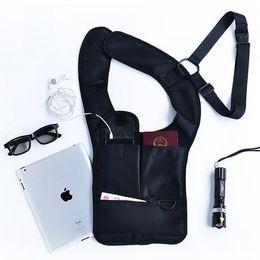 $enCountryForm.capitalKeyWord NZ - Men Security Holster Strap Backpack Underarm Shoulder Armpit Bag Phone Pouch Burglarproof Anti Theft Waist Bag
