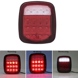 Universal trUck tail lights online shopping - 2pcs X Led Tail Lights For car Truck