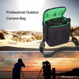 $enCountryForm.capitalKeyWord Australia - HUWANG Portable Waterproof Scratch-proof Polyester Surface Material Outdoor Sports Sling Shoulder Bag Handbag DSLR Camera Bag