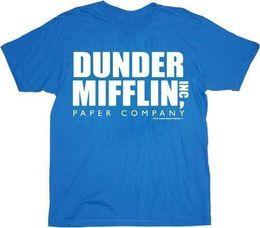 $enCountryForm.capitalKeyWord Canada - Details zu The Office Dunder Mifflin INC Paper Company Logo t-shirt tee Funny free shipping Unisex Casual gift