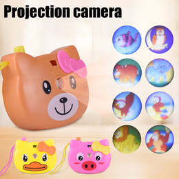 $enCountryForm.capitalKeyWord NZ - Animal Pattern Eco-friendly Light Projection Camera Educational Toys Beautiful and Unique Design Children Kids Toy Birthday Gift