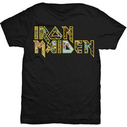 c3e6154ad61 Iron Maiden Eddie Logo Steve Harris Licensed Tee T-Shirt Men