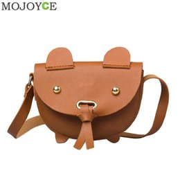 Baby Girls Messenger Bag Cute Cartoon Mini Shoulder Bag Fashion Designer  Baby Girls Handbags Kids Cute PU Leather Purses Gifts 868840800c7bb