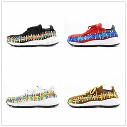 2018 top labs 2018 Cheap Sale Lab Footscape Woven NM Black White Rainbow Casual designer Shoes for Top quality Red Yellow Men Athletic Sneakers Size 40-45 top labs on sale