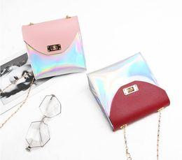 Discount skull mobile phone - Wholesale - Laser handbags female bag 2018 new deer mobile phone shoulder Messenger bag