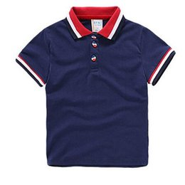$enCountryForm.capitalKeyWord Australia - High Quality New Hot Baby Boys Polo Short Shirt Children 'S Clothing Summer Clothes Baby Kids Child Brand 100 %Cotton Short Polo Shirt