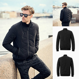 $enCountryForm.capitalKeyWord Canada - 2018 Mens Designer Jackets Black Cotton Winter Coats In Stock High Quality Jacket Plus Size S-4XL