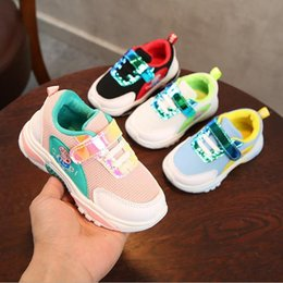 $enCountryForm.capitalKeyWord Canada - Kids sports sells new spring summer baby soft bottom sneakers girls anti skid leisure 1-3 year old baby boy tennis shoes
