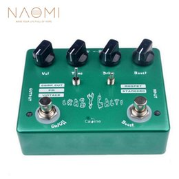"""Overdrive Effects Pedal Australia - NAOMI Electric Guitar Effect Pedal """"Crazy Cacti"""" Overdrive Guitar Effects Caline CP-20 Guitar Parts Accessories New"""