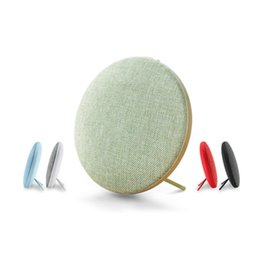 Chinese  Original REMAX M9 High-end Bluetooth Mini Speaker Double Stereo Portable Wireless Soundbar Speakers 6 Hours Lated Distinctive Cloth Music manufacturers
