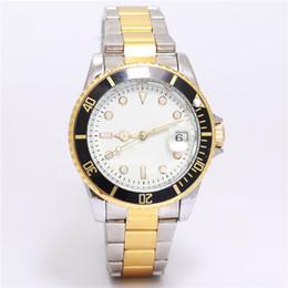relogio masculino mens watches Reloj de lujo Dial Negro Con Calendario Bracklet Broche Plegable Maestro Hombre regalo de lujo Relojes de moda Hombres en venta