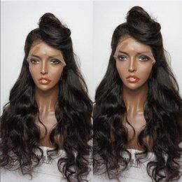Großhandel 180% Dichte Volle Spitze Echthaar Perücken Für Schwarze Frauen Brasilianisches Reines Haar Lose Welle Lace Front Perücken Glueless Volle Spitze Perücken