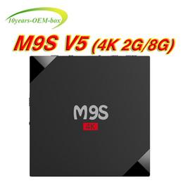 Media Player Australia - M9S V5 Smart TV Box 2GB 8GB Android 6.0 Rockchip RK3229 Quad Core 4K Google Streaming Media Player OTT Boxes Better X96 Mini S905W